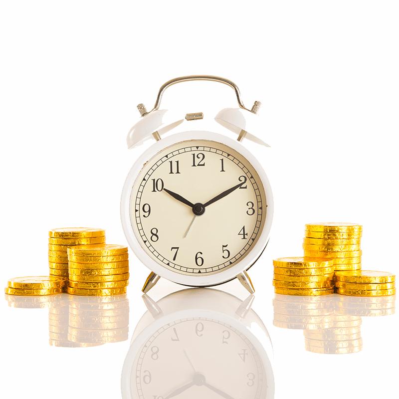 時計と現金