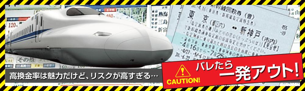 新幹線回数券のイメージ
