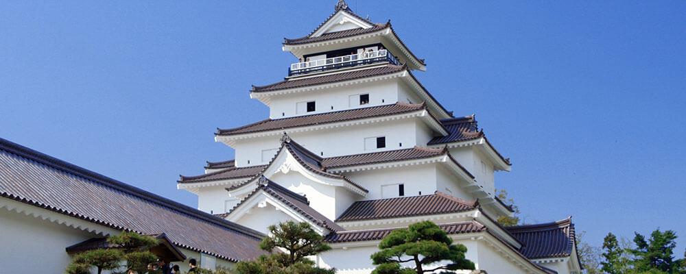 福島の会津若松城
