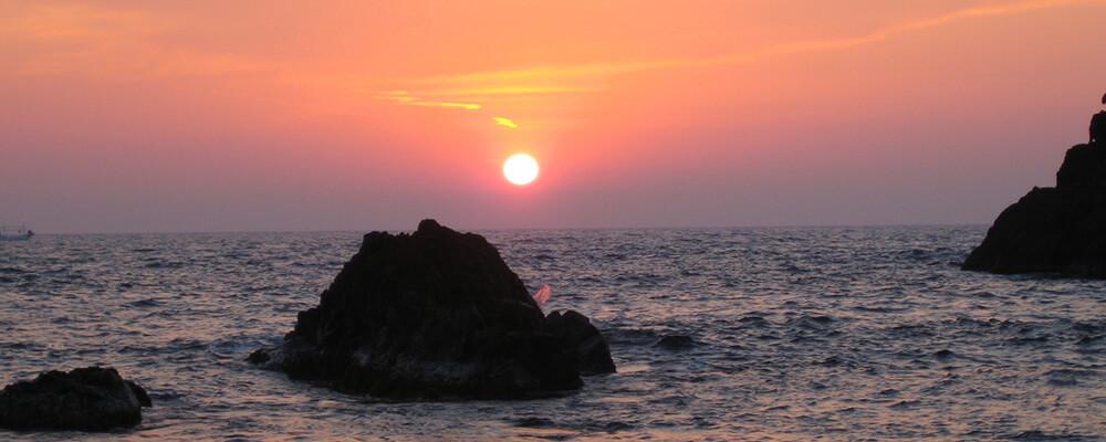 島根県の讃岐島