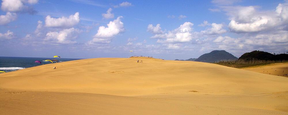 鳥取の砂丘